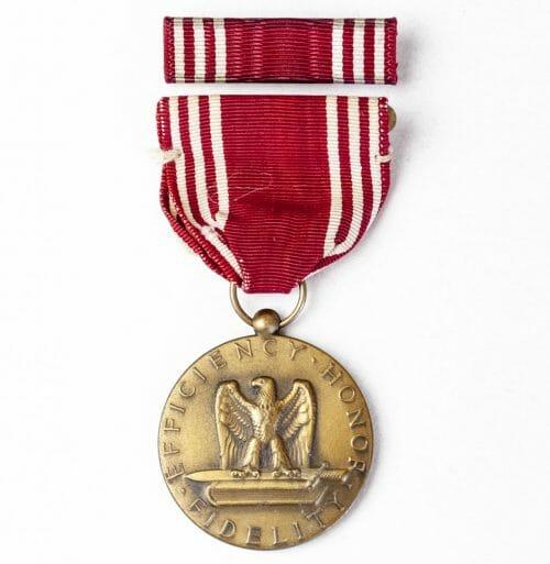 USA Good Conduct medal + ribbon