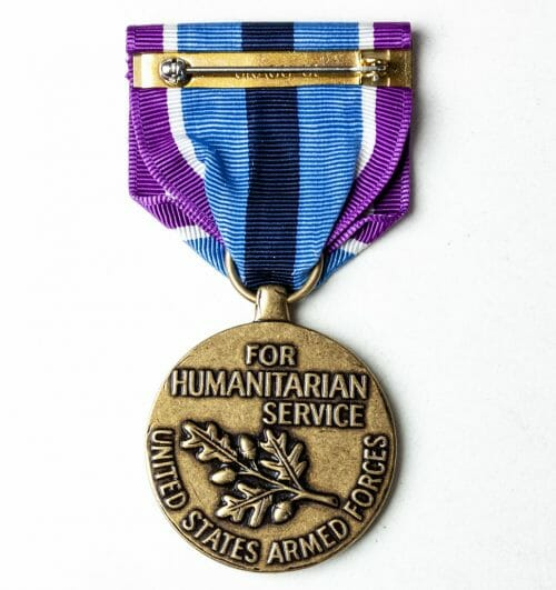 USA - United States Armed Forces For Humanitarian Service medal