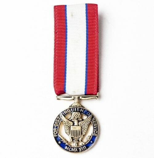 USA miniature Army Distinguished Service medal