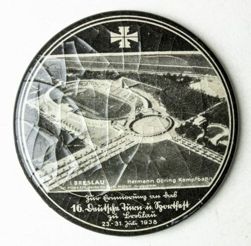 16. Deutsches Turn und Sportfest Breslau 1938 pocket mirror