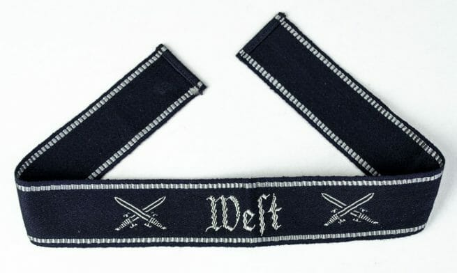 """NS-Soldatenbund cuffband """"West"""""""