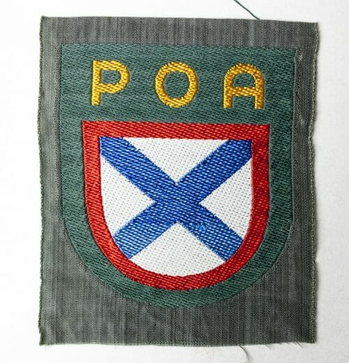 "POA Russian Liberation Army ""Eastern Volunteer"" Wehrmacht arm patch"