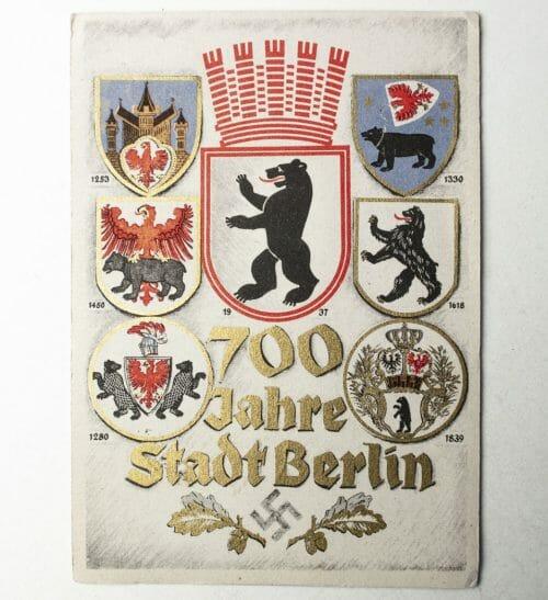 700 Jahre Stadt Berlin Postcard