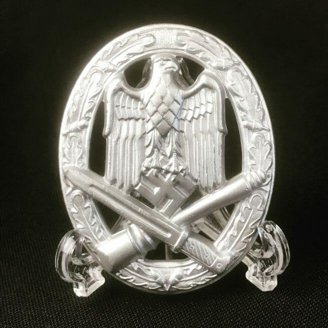Allgemeines Sturmabzeichen / General Assault badge maker Berg & Nolte STONE MINT!!!