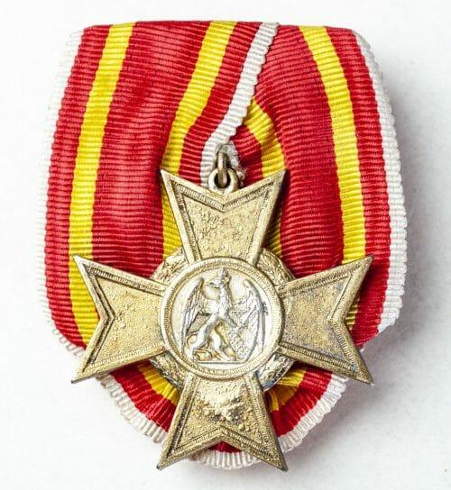 Baden Kriegsverdienstkreuz Einzelspange (single mount)