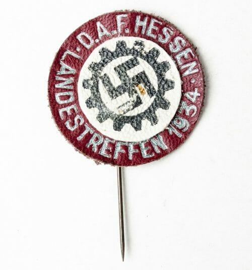 DAF (Deutsche Arbeitsfront) Hessen Landestreffen 1934