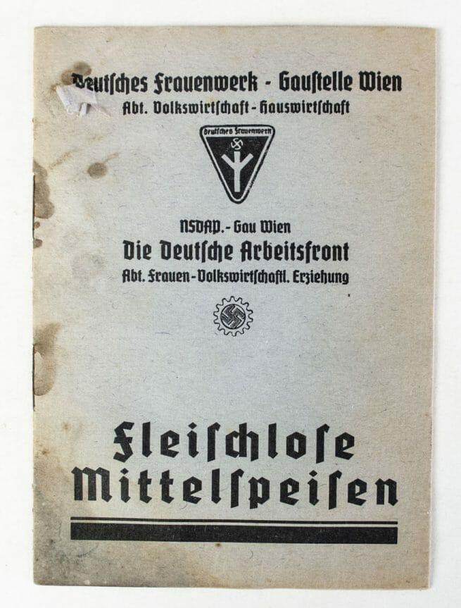 Deutsches Frauenwerk Gaustelle Wien two booklets