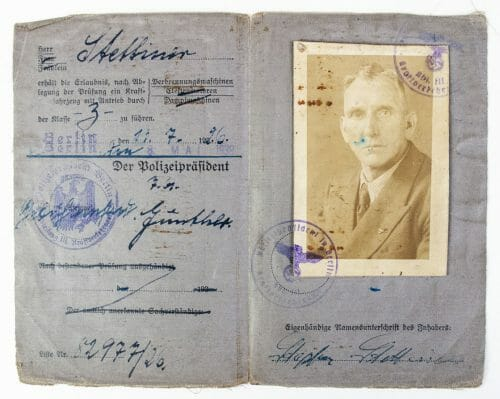 Führerschein (Drivers Licence) with photo