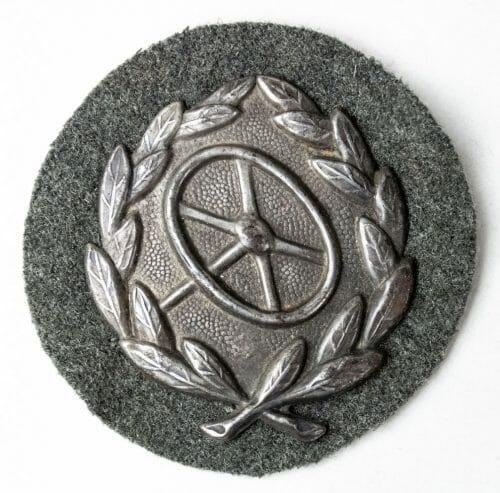 German Kraftfahrbewährungsabzeichen (drivers proficiency badge) in Silver