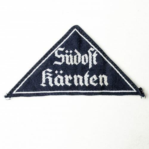 Bund Deutscher Mädel (BDM) Gebietsdreieck Südost Kärnten