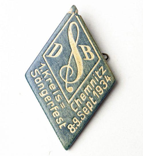 Deutscher Sängerbund - 1. Kreis Sängerfest Chemnitz 1934