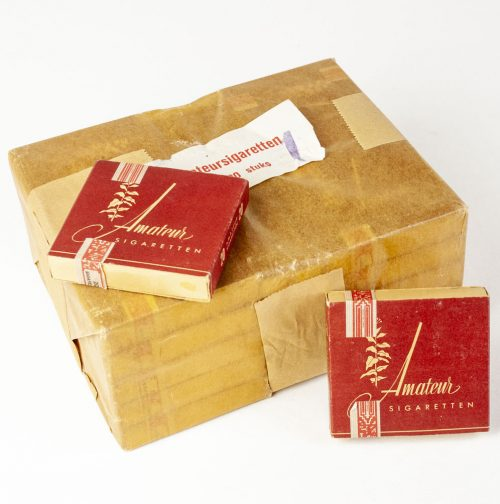"Dutch Wartime ""Amateursigaretten"" - A whole original packing with 25 packages!!!"