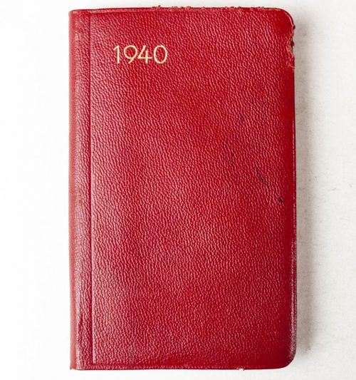 German factory Pocket Agenda from 1935