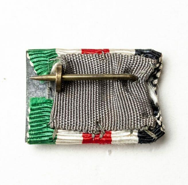 Italienische Feldzug in Afrika medaille Feldspange/Bandspange