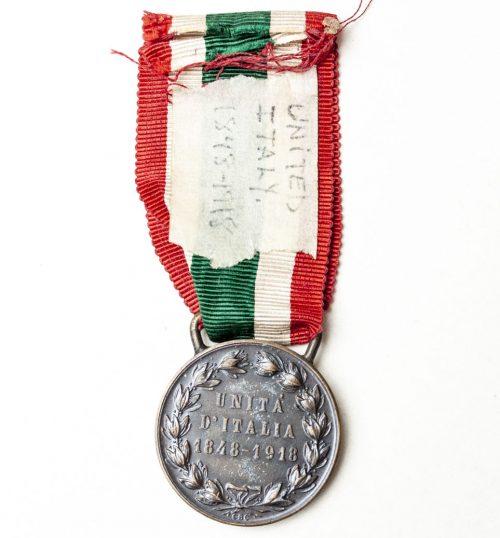 Italy - Unita d'Italia 1848 - 1918 medal