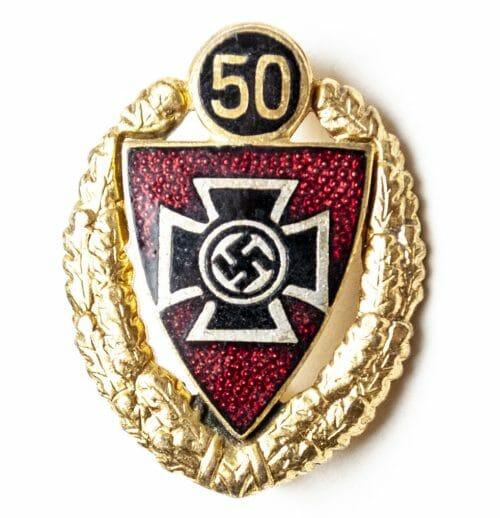 Kyffhäuserbund 50 Year membershipbadge (Mitgliedsabzeichen)