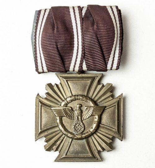 NSDAP Dienstauszeichnung 10 jahre Einzelspange (single mount)