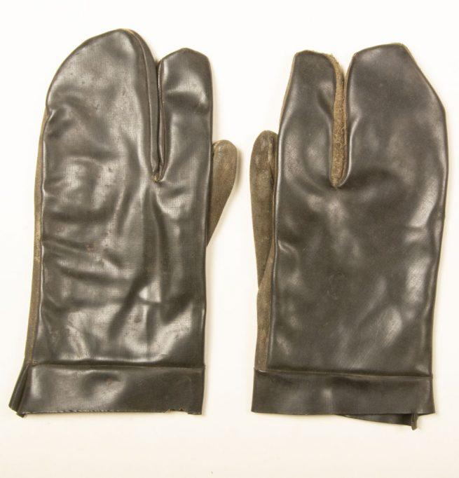 RAD Arbeitsmann Alfred Malek Reichsarbeitsdienst working gloves