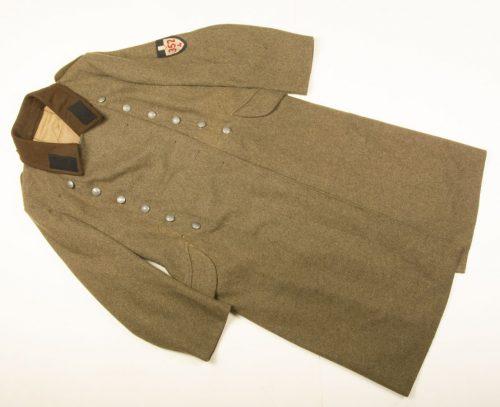 RAD / Reichsarbeitsdienst 352/4 mantel (Long Coat) for a Arbeitsmann