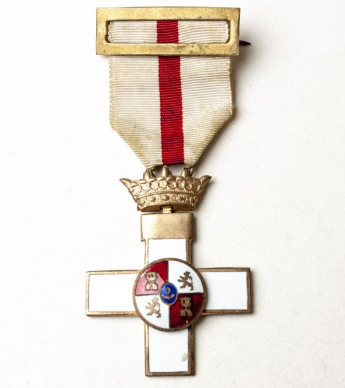 Spain - Order of Military Merit, I Class Cross with White Distinction