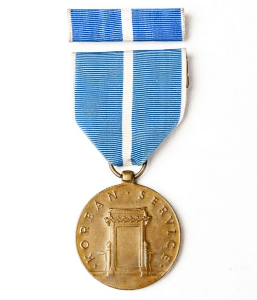 US Korean Service medal + ribbon