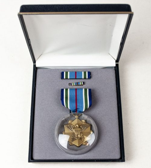 USA Joint Service Achievement Award with box and ribbons