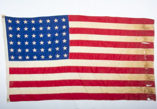 USA World War II 48 Star American Flag