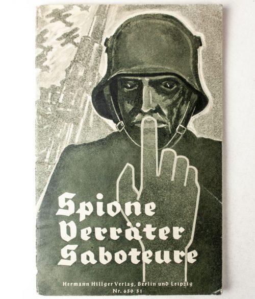 Brochure: Spione, Verräter, Saboteure (1938)