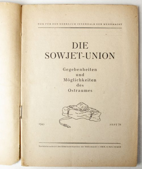 Die Sowjet-Union Gegebenheiten und Möglichkeiten des Ostraumes
