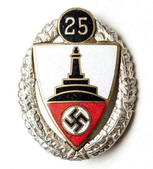 Kyffhäuserbund 25 Year membershipbadge (Mitgliedsabzeichen)