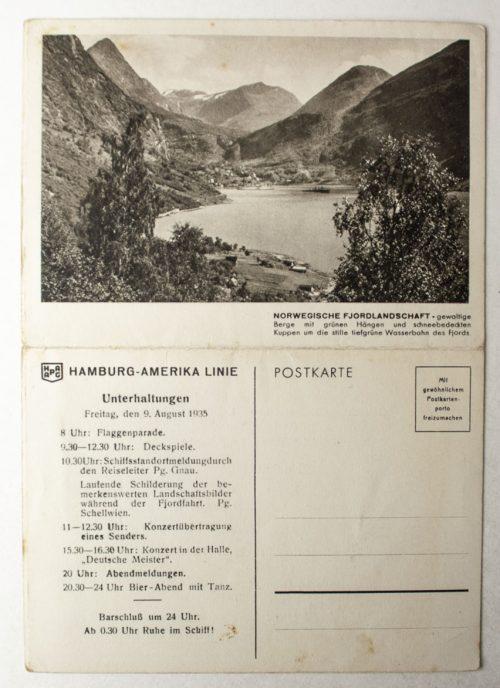 NS - Gemeinschaft Kraft durch Freude Hamburg Amerika Linie (Dampfer Oceana)