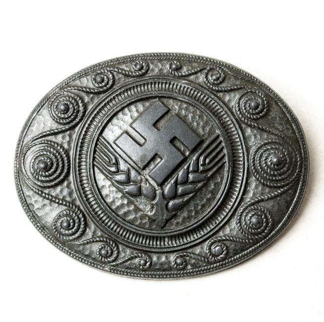 Reichsarbeitsdienst der weiblichen Jugend ( RADwJ ) brooch maker J.B.U. & Co.