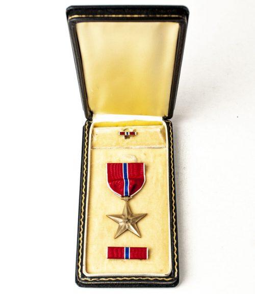 USA WWII Bronze Star (named to John Eltinge Blum)