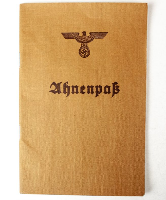 WW2 German Ahnenpass (ancestry pass)