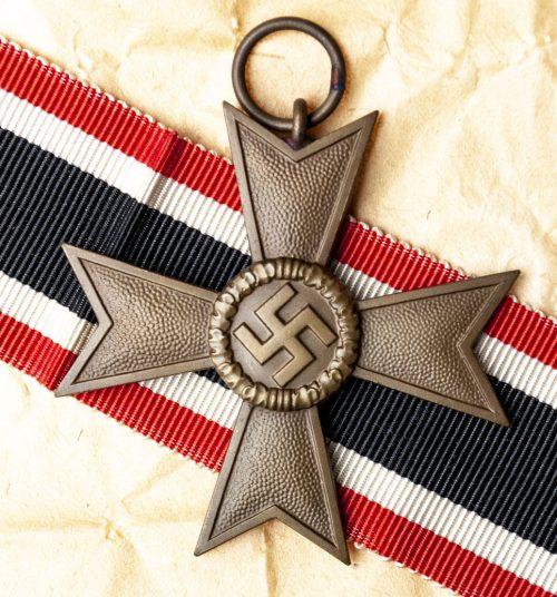 Kriegsverdienstkreuz without swords (KVK – War Merit cross without swords) with original packing paper