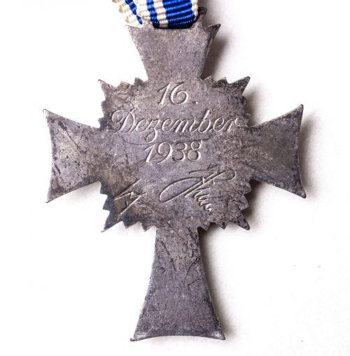 Mutterkreuz (Motherscross) in silver