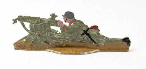 World War I German tin toy soldiers (M.G.K.2 - Maschinengewehr Kompanie) 20 pieces in original box