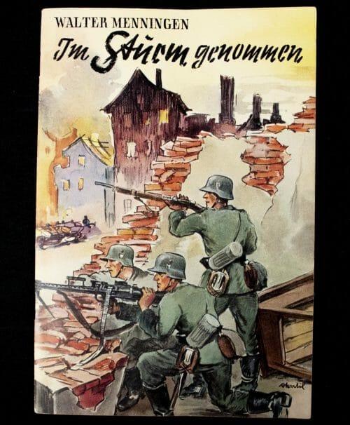 Brochure: Walter Menningen - Im Stürm Genommmen