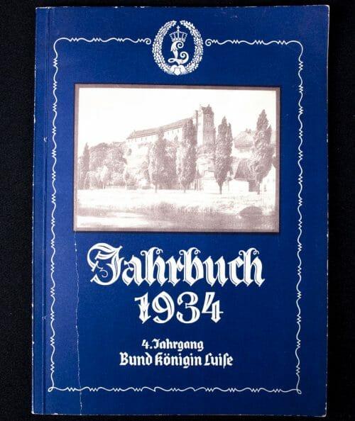 Bund Königin Luise - 4. Jahrgang Jahrbuch 1934