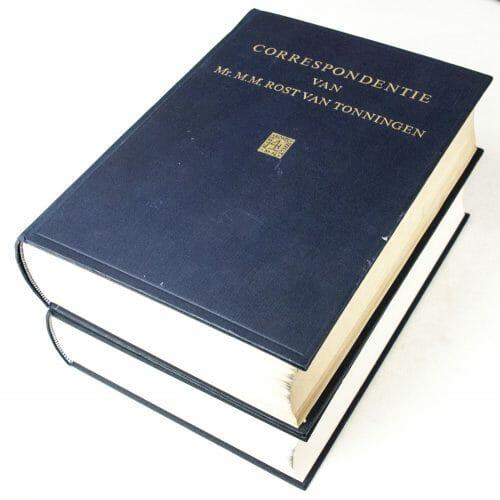 Correspondentie van Mr. M.M. Rost van Tonningen - 2 delen - 1967/1993