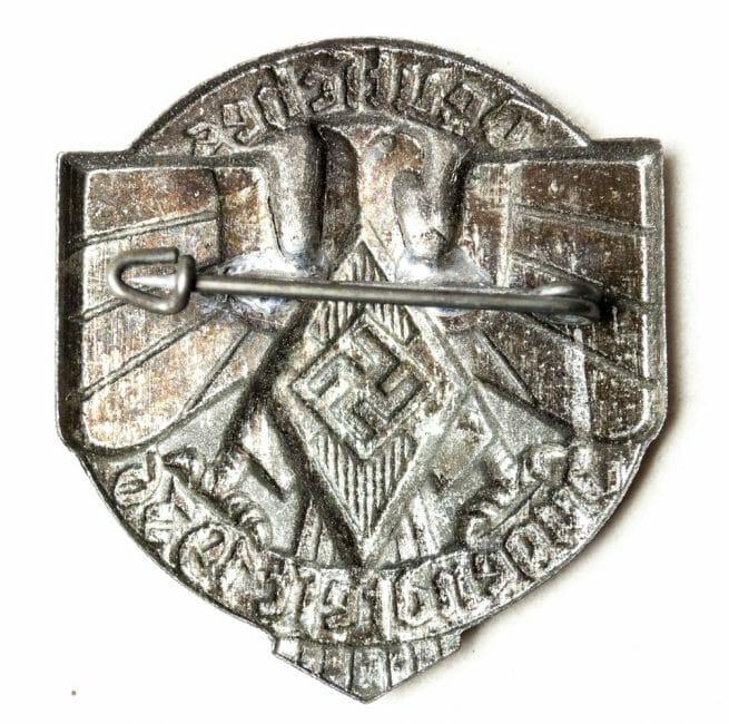 Hitlerjugend - Deutsches Jugendfest 1936 closed abzeichen (HJ badge)