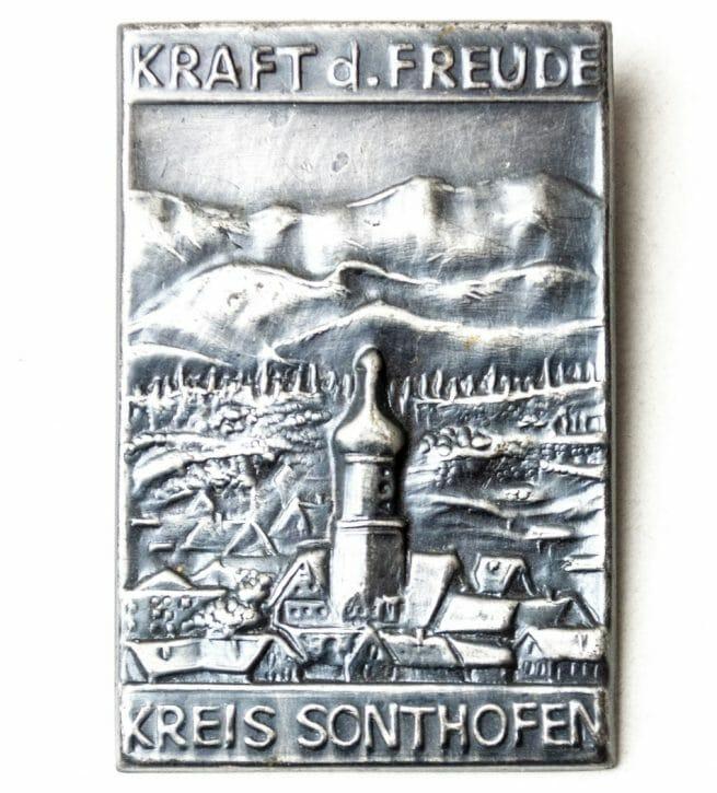 Kraft Durch Freude (KDF) - Kreis Sonthoven abzeichen