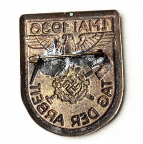 Tag der Arbeit 1 mai 1936 abzeichen/badge