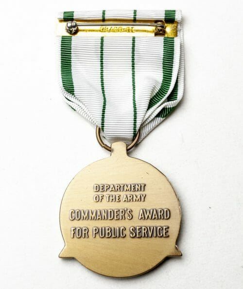 USA Commanders Award for Public Service (department of the Army).