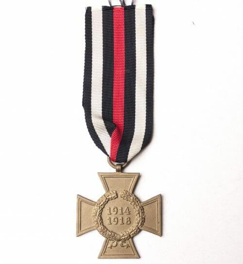 Ehrenkreuz für Kriegsteilnehmer - ohne Schwerter