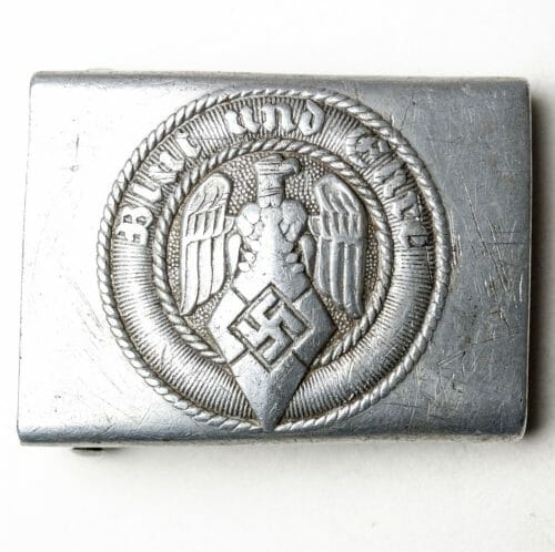 Hitlerjugend (HJ) buckle maker marked M4/38 by Richard Sieper & Sohne