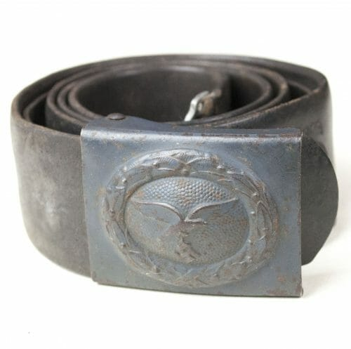 Luftwaffe blue buckle + belt