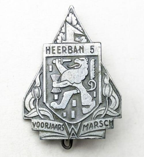 NSB/W.A. Voorjaarsmarsch Heerban 5 badge