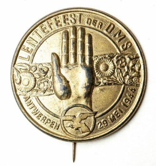 VNV - NSJV DMS Lentefeest Antwerpen 1944 badge
