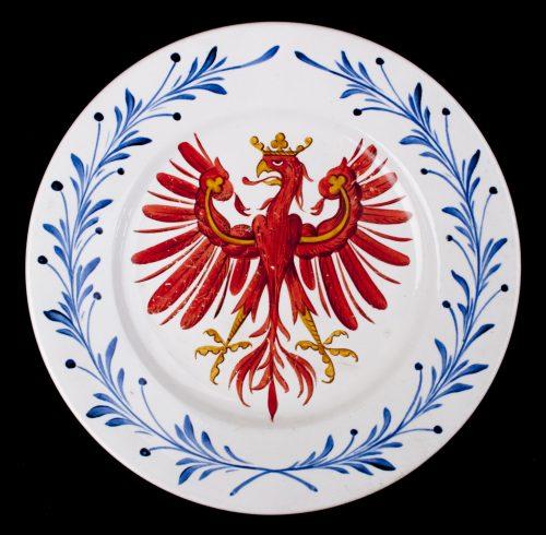 Austrian / Tirolean Eagle plate